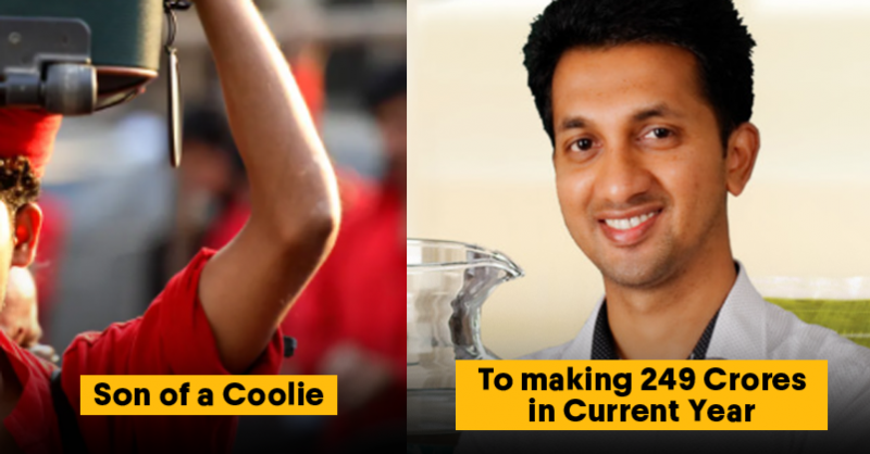 This Coolie's Son Left A Well Paying Job To Start His Own Business Now Earns Rs 286 Crores A Year